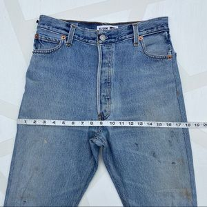 Re/Done Jeans - Re/Done Levi's High Rise Ankle Crop Jeans 25